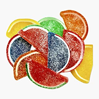 Boston Fruit Slices - Jelly Fruit Slices Assorted Candy - 5 LB BULK Box - FACTORY DIRECT - America's Original Fruit Slices - Vegan, Gluten Free, Completely Allergen Free!