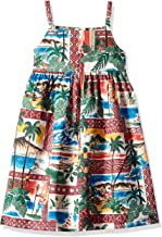Reyn Spooner Girls' Big Hawaiian Christmas Sundress