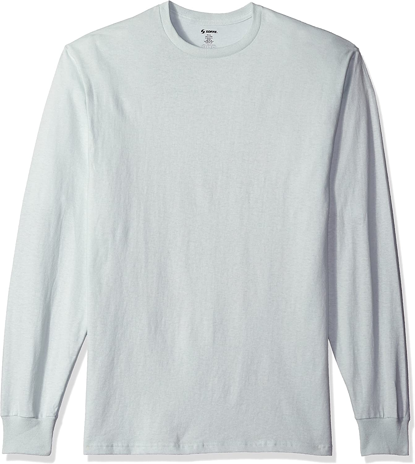 SOFFE Mens Midweight Cotton Long Sleeve Tee