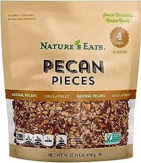 Nature's Eats Pecan Pieces, 16 Ounce