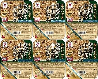 たいまつ食品 金のいぶき 玄米と十五穀ごはん 160g×6個