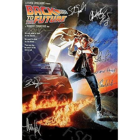 back to the future autograph replica