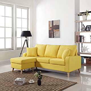 Amazon.com: Yellow - Living Room Furniture / Furniture: Home ...