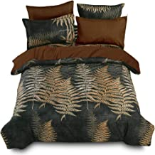 Essina Microfiber Super King Quilt Cover Duvet Cover Doona Cover Set 3pc Arcadia Collection, Soft and Lightweight, Yucca