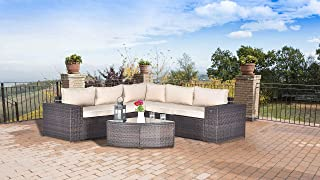 Best outdoor furniture round couch Reviews