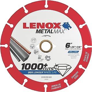 LENOX Tools Cutting Wheel, Diamond Edge, 6-Inch (1972923)