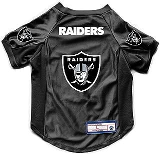 NFL Oakland Raiders Pet Stretch Jersey, Large