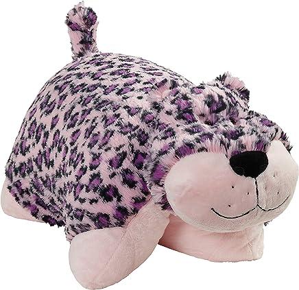 Pillow Pets Signature Stuffed Animal Plush Toy 18,  Lulu Leopard