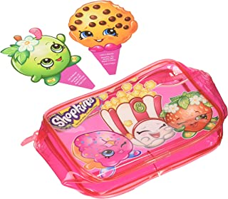 Shopkins Time to Shop Cake Topper - 3 Piece Set - Includes Zippered Pouch; Cookie and Apple