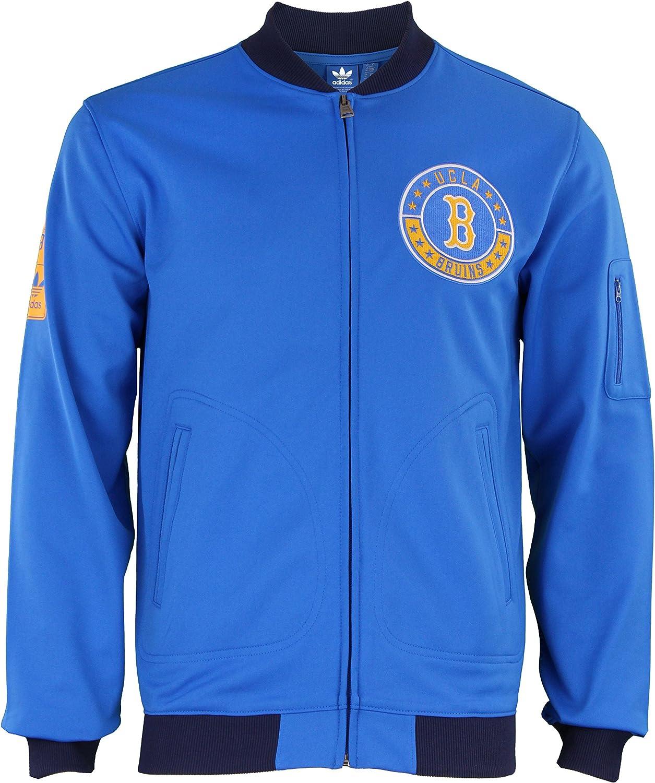 Adidas UCLA Bruins Men's Original Full Zip Track Top, blueee