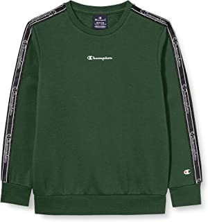 Champion Boys' Seasonal Tape Sweatshirt Sudadera para Niñas