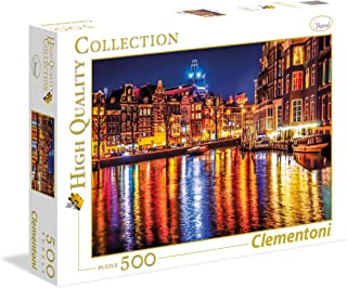 Clementoni - 35037 - Puzzle - High Quality Collection - Amsterdam - 500 Pièces
