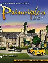 California Real Estate Principles 16th LOOSE LEAF