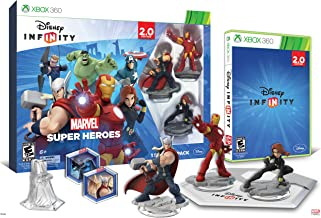 Disney INFINITY: Marvel Super Heroes (2.0 Edition) Video Game Starter Pack - Xbox 360
