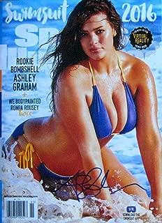 Ashley Graham SI SWIMSUIT MODEL autographed Sports Illustrated magazine Winter 2016