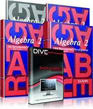 Saxon Algebra 2 3rd Edition Complete Kit w/Solutions Manual & DIVE Instructional CD