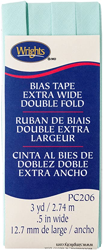 Wrights Cool Cucumber Double Fold Bias Tape 1/2