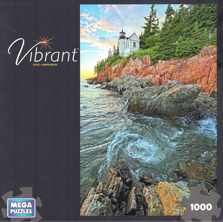 VIBRANT  LIGHTHOUSE  1000 PIECE PUZZLE