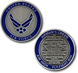 U.S. Air Force The Airman's Creed Challenge Coin
