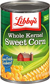 Libby's Whole Kernel Corn, 15 oz Cans (Pack of 24)