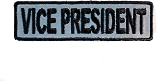 VICE PRESIDENT Embroidered Patch 3 inch IVANP3749