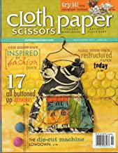 {Crafts} Cloth-Paper-Scissors {Specializing in} Collage Mixed Media-Artisitc Discovery {Issue35, March/April 2011}