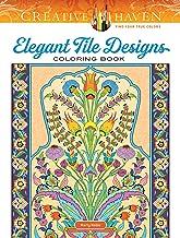 Creative Haven Elegant Tile Designs Coloring Book