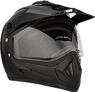 Vega Off Road OR-D/V-K_L Full Face Helmet (Black, L)