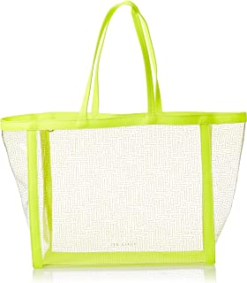 Ted Baker Women's Nicoley Shopping Tote Bag, Lime