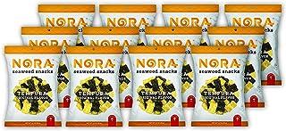NORA Tempura Seaweed Original- Premium Seaweed Snack (12 count, 45g pack)