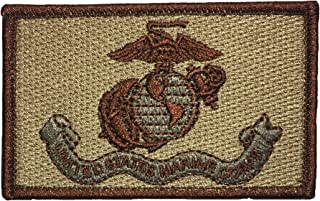OTA Patch United States Marine Corps Tactical Hook and Loop Touch Fasteners Backing Military Soldier Army Logo Jacket Vest Shirt hat Blanket Backpack T Shirt Patch Embroidered Appliques Symbol Sign