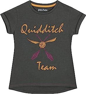 HARRY POTTER - Camiseta para niñas Quidditch