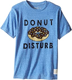 Donut Disturb Short Sleeve Tri-Blend Tee (Little Kids/Big Kids)