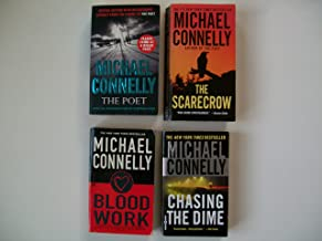 Michael Connelly (Set of 4) The Poet; The Scarecrow; Blood Work; Chasing the Dime.