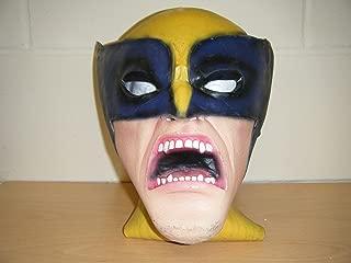 Wrestling Masks UK Wolverine Deluxe Halloween Monster Zombie Full Head Fancy Dress Costume Mask