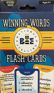 Spelling Bee Flashcards-Winning Words