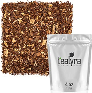 Sponsored Ad - Tealyra - Rooibos Coconut Vanilla Chai - Ginger and Cinnamon with Red Bush Rooibos Herbal Loose Leaf Tea - ...