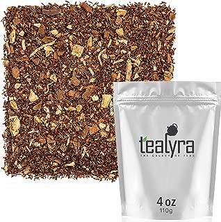 Tealyra - Rooibos Coconut Vanilla Chai - Ginger and Cinnamon with Red Bush Rooibos Herbal Loose Leaf Tea - Antioxidants Rich - Caffeine-Free - 110g (4-ounce)