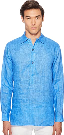 Linen Popover Shirt