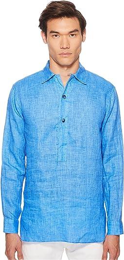 Etro - Linen Popover Shirt