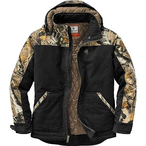 Legendary Whitetails Mens Canvas Cross Trail Workwear Jacket