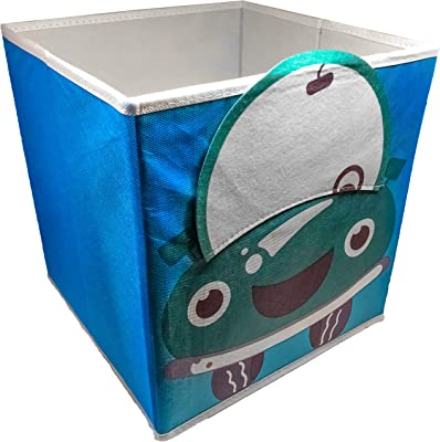 SystemBuild Ameriwood Home Flynn Wooden Storage Cabinet (White) (Childrens Car Bin; 1 Pack)