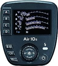 Nissin Air 10s Flash Commander, Wireless 2.4GHz Nissin Air System Transmission for Nikon - Includes Nissin USA 2 Year Warranty