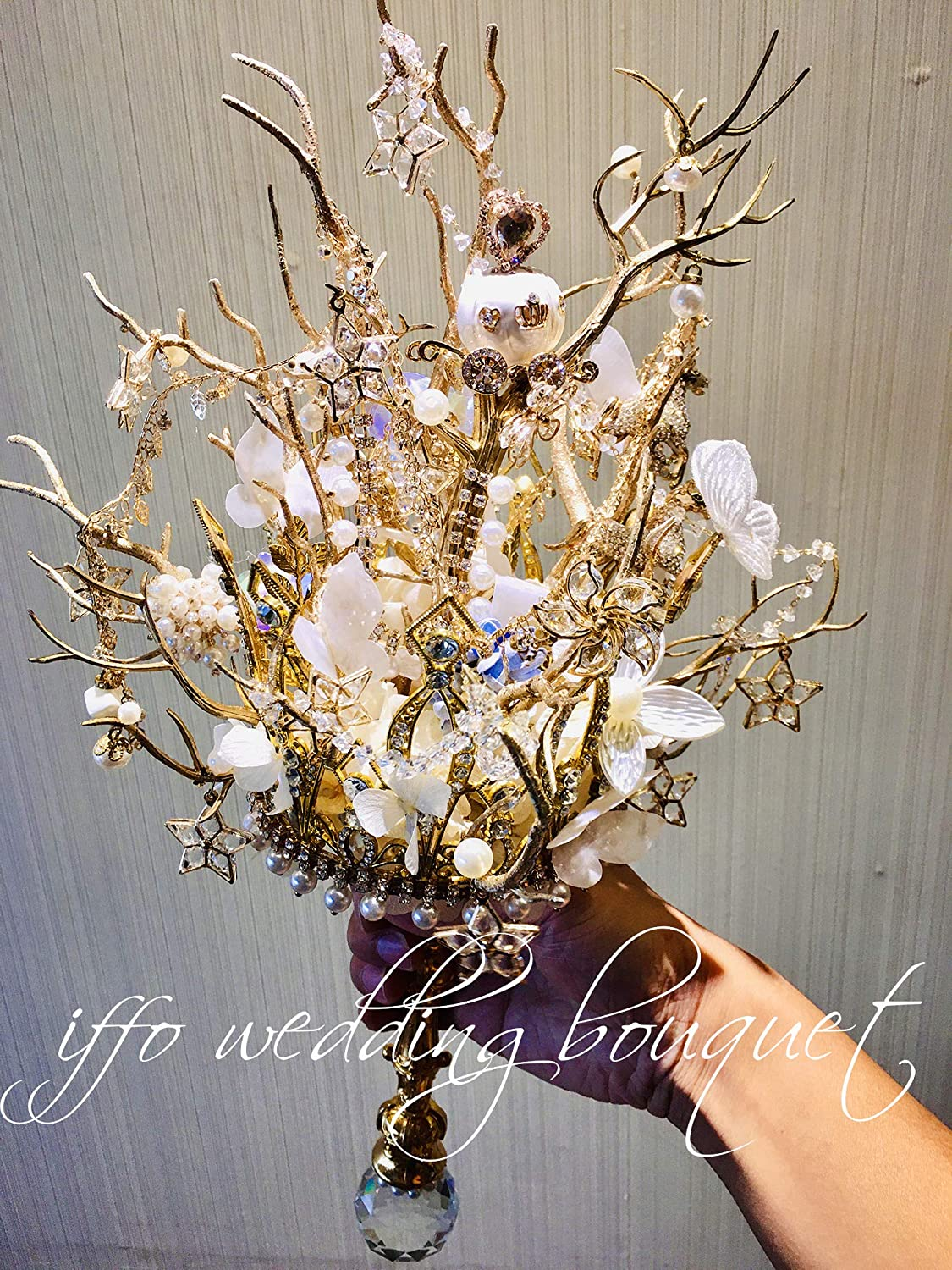 Bride wedding Very popular 2021 autumn and winter new personalized bouquet decoration flow party