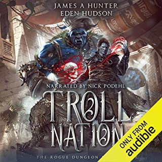 Troll Nation: The Rogue Dungeon, Book 3