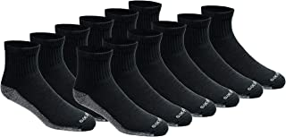 mens Dri-tech Moisture Control Quarter Socks Multipack
