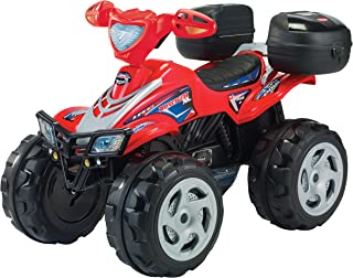 Prinsel Cuatrimoto Eléctrica Tracker XL Boy, Color Rojo