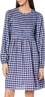 Y.A.S Yasbluma LS Smock Dress-Ma Vestido para Mujer