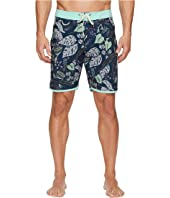 VISSLA Night Crawler Four-Way Stretch Boardshorts 18.5""
