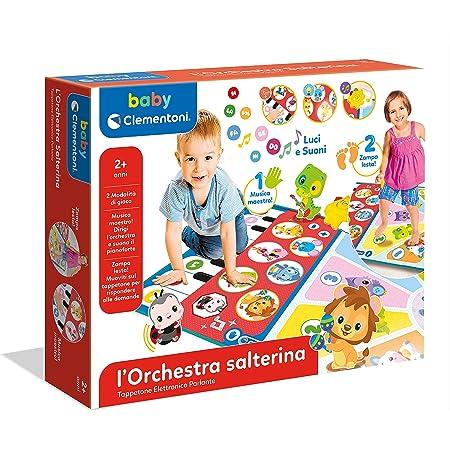 Clementoni- L'orchestra Salterina Tappeto Musicale per Bambini, Multicolore, 17434